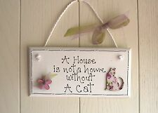 Multi-Coloured Wooden Decorative Plaques & Signs