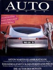 Auto Focus n°5 1995 - Aston Martin Katalog - Porsche 917 Story -in tedesco [Q53]