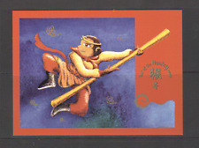 Christmas Island 2004 YO MONKEY/Greetings P'card n15435