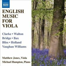 English Music for Viola (CD, Jan-2011, Naxos (Distributor))