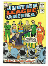 Justice League of America #8 DC 1962 FN/VF