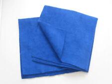 flexipads ~ 2x Poliertuch Mikrofaser ohne Nähte Poliertuch blau 40 x 40cm 40536