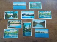 10 Vintage Postcards of North Carolina USA United States of America Lakes Rivers