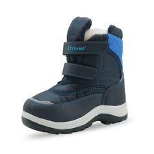Warm Snow Boots for Boys Winter Waterproof Boys Boots Mid-Calf Rubber Eu 22-33
