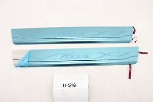 New OEM Ford Focus Alloy Scuff Plate Kit NOS 2012-2018 DM5Z-54132A08-C pair set