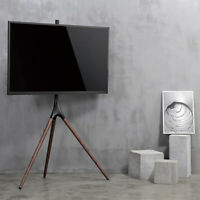 """EleTab Artistic Easel 45"""" to 65"""" Screen TV Tripod Height Adjustable Floor Stand"""