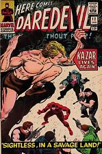 MARVEL COMICS DAREDEVIL # 12 JAN 1966 First Plunderer & Ka-Zar