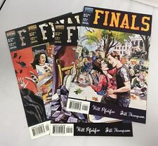 Finals # 1 2 3 4- Mini Series- Vertigo Comics CR421
