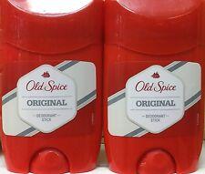 2x Old Spice Original Deodorant Stick 50ml