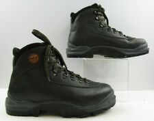 Men's Asolo Black Leather Tri Fusion System Classic Hiking Boots Size: 11.5