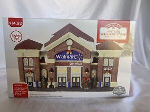 Rare Holiday Time Walmart Supercenter Vintage Victorian 2020 Christmas Village
