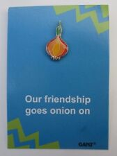 ood Onion our friendship goes on & on tack PIN IT POWER ENAMEL Ganz humor
