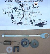 1967 76 Cuda Duster Dart 340 360 Clutch Rod Kit 4 Speed 4 Spd Manual Service Kit