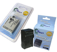 Battery + Charger for Canon Rebel XS, EOS Rebel XS, EOS Rebel T1I, EOS 450D