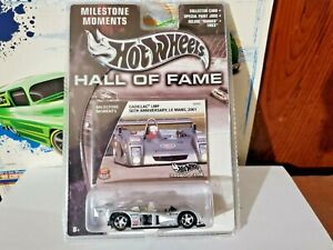HOT WHEELS HALL OF FAME  CADILLAC LMP  SILVER