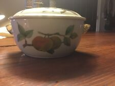Royal Worcester EVESHAM VALE 1.5 Pint Covered Casserole Dish Shape 23 Size 5 NEW