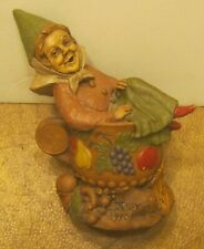 """1990 Tom Clark """"Judy"""" Gnome Figurine #67 Excellent Condition Hand Signed On Base"""