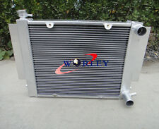 3 ROW Aluminum Radiator For MAZDA RX2/RX3/RX4/RX5 RX7 S1/S2 1969-1983 MT Manual
