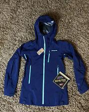Patagonia Pluma Waterproof Jacket Gore-Tex Women's XS Navy Blue NEW MSRP $549