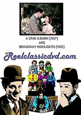 NEW A STAR IS BORN (1937) and BROADWAY HIGHLIGHTS (1935) (DVD)