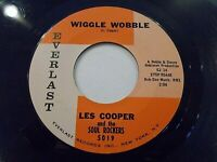 Les Cooper & The Soul Rockers Wiggle Wobble / Dig Yourself 45 1962 Vinyl Record