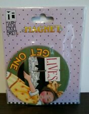 """Mary Engelbreit Collector'S Magnet Lives-Get One Nib New 3"""""""