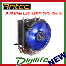 Antec CPU Air Cooler A30 (92mm fan with LED) Support Intel 115X/ 775 /AM4/AMD