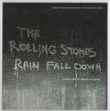 Rolling Stones - Rain Fall Down 2005 US 1-Track Promo CD