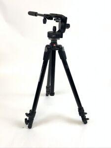 Bogen Manfrotto Professional Photo Camera Video Tripod 190XDB  with 128LP Head