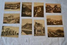 Collection x10 Antique UNUSED Postcards of German Buildings Bridges Circa 1905 A