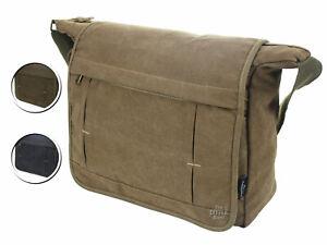 ARIANA Canvas Casual Messenger Bag Side Bag Shoulder Bag Work Satchel Bag -62541