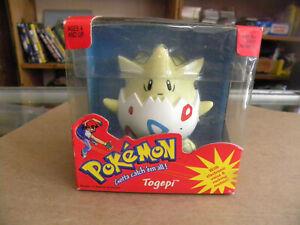 "Hasbro 1998 Pokemon TOGEPI Electronic Voice & Rocking Figure in box 3""  mf"