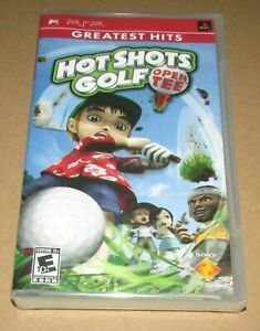 Hot Shots Golf: Open Tee (Sony PSP) Brand New / Fast Shipping