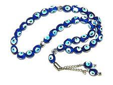 0024 - Prayer Beads / Worry Beads 8mm Lucky Evil Eye Polyester Beads