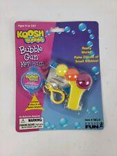 Vintage Koosh Bubbles Bubble Gun Keychain Sealed 1999 NEW ON CARD FREE SHIPPING