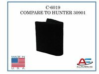 Replacement for Hunter 30901 - HEPA Carbon Pre-Filter - Made In The USA