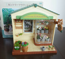 Sylvanian Families COUNTRY FLOWER SHOP Epoch Japan Vintage Rare MI-42