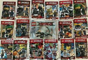 x5 NEW Random Lego Ninjago Polybags (Birthday Party, Stocking Fillers) + Gift!