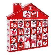 Nordic House Christmas Advent Calendar - Add your own Treats