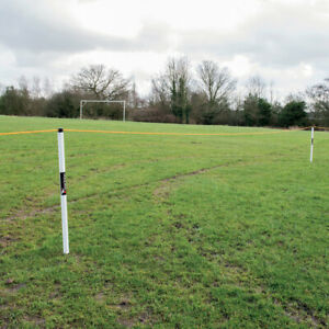 Precision Supporter Side Line Respect Barrier for crowds - 60m Rope and Bar Set