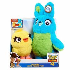 Disney Pixar Toy Story 4 Ducky-Bunny Scented Friendship Plush New