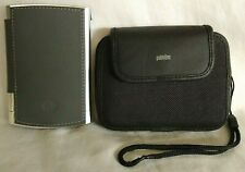 Palm Tungsten E Bundle Cover PalmOne Case +Strap Stylus Plugged In No Turn On