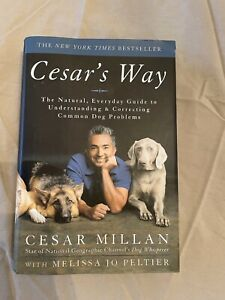 Cesars Way Dog Training Book by Cesar Millan Hard Back Great Condition