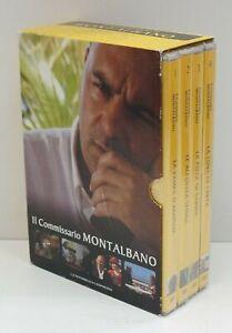 Il Commissario Montalbano Stagione 7 completa con n. 4 DVD italiano con Cofan...