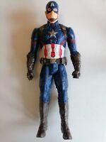 "Marvel Captain America 12"" Talking Interactive Figure Talking Sounds"