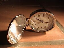 princess cruises travel alarm clock silver tone...handy size, well made, works,