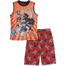 Boys 2pc Lego Ninjago Pajama Set Brand New with Tags Size 4/5 Small Summer Kids