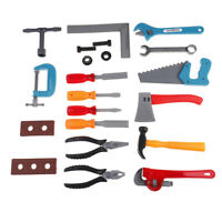 21X Building tool toy carpentry pretend play for kid educational set gifts bf