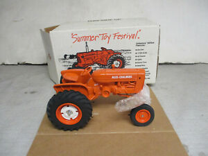 """SpecCast Allis Chalmers D14 Toy Tractor """"1989 Summer Toy Festival"""" 1/16 Scale"""