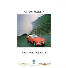 Aston Martin Vantage Volante Prospekt, 1987